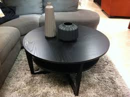 Round Dark Wood Coffee Table - coffee tables rustic small round coffee table for rustic living