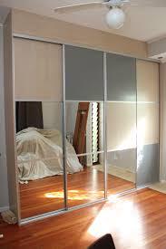 Home Decor Innovations Sliding Mirror Doors Composite Sliding Doors Using Mirror Melamine And Mesh