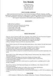 100 resume sample of mechanical engineer engineering resume