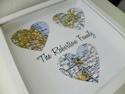 wedding gift parents wedding gifts for parents personalized map parents wedding