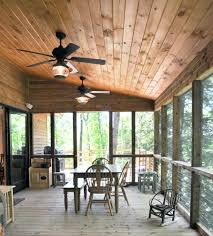contemporary ceiling fans porch traditional with wood railing