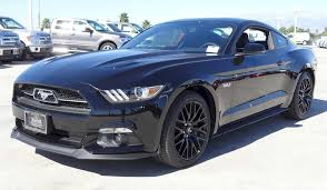 Black Mustang With Black Rims 2015 Mustang Gt