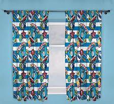 Boys Ready Made Curtains Thomas The Tank Engine Children U0027s Curtains Ebay