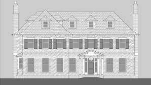 hedges lane shingle style home plans by david neff architect