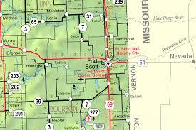 Kansas State Map K 65 Kansas Highway Wikipedia