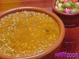 lentille cuisine spécial ramadan lentilles à la marocaine