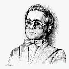 elton drawing by cristophers dream artistry