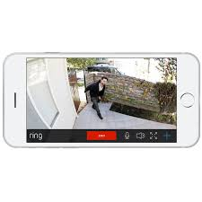 Ring Wi Fi Enabled Video Doorbell by Ring Stick Up Wireless Outdoor 720p Ip Camera Black Bilingual