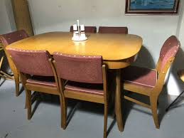 Leighton Dining Room Set Vintage 1958 Chiswell Extension Dining Table U0026 6 Chairs Parker Mid