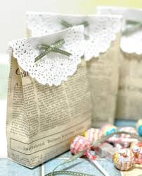 vintage wedding favors diy projects vintage wedding favors handmade gift bag classic
