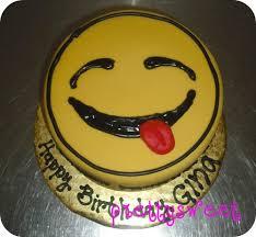 smiley cake p gina u0027s mini birthday cake prettysweetboutique