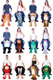Piggyback Halloween Costume Choose Size Funny Halloween Animal Piggyback Carry Ride