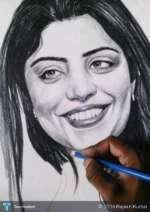live sketch in dilli haat touchtalent for everything creative
