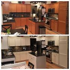 Finally Progress Can Be Seen General Finishes Lamp Black Milk - Oak kitchen cabinet makeover