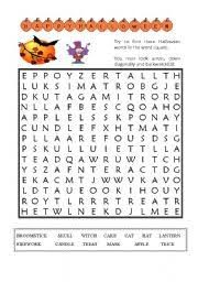 intermediate esl worksheets halloween vocabulary