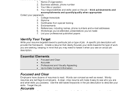 Resume Builder Read Write Think Basic Resume Example Free Basic Resume Template Resume Easy