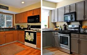 inspiring painting kitchen cabinets before after ideas high