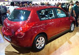 red nissan 2012 file nissan tiida rear quarter jpg wikimedia commons