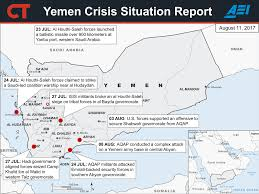 Where Is Yemen On The Map 2017 Yemen Crisis Situation Report September 21 Critical Threats