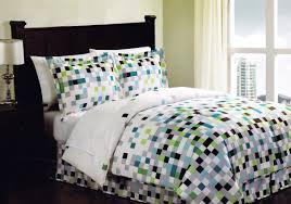 Bed In Bag Sets Minecraft Pixels Comforter Set Bedding Bed In A Bag Geometric
