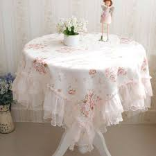 shabby chic tablecloth home design styles