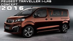 peugeot reviews 2016 peugeot traveller i lab concept review rendered price specs