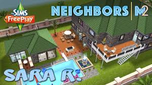 sims freeplay sara r u0027s house neighbor u0027s original house design