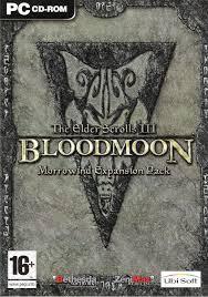 the elder scrolls iii bloodmoon elder scrolls fandom powered