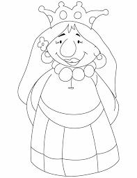 cartoon queen coloring pages download free cartoon queen