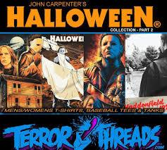 halloween movie shirt terror threads previews part 2 of their u0027halloween u0027 shirt