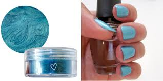 how to turning eye shadow into nail polish beautylish