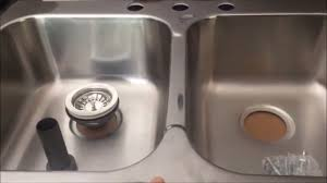 replace install a kitchen sink