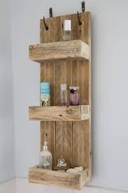 Images Of Bathroom Shelves Rustic Bathroom Shelves Made From Reclaimed Pallet Wood