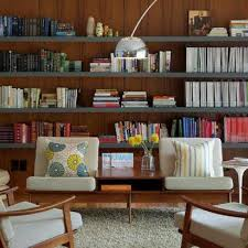 Floating Bookcases Living Rooms Floating Shelves Design Ideas