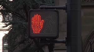 stop and go light stop and go crosswalk sign stock video footage videoblocks