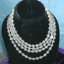 vintage rock crystal necklace images Vintage necklaces page 2 jpeg