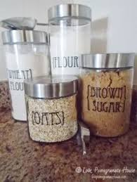 what to put in kitchen canisters custom kitchen canister labels printables kitchen