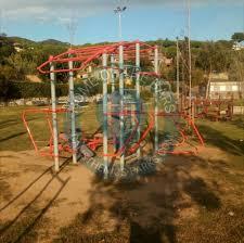 Flag Pole Workout Cabrils Street Workout Park Spain Spot