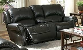Black Leather Reclining Sofa And Loveseat Black Leather Loveseat Recliner With Console Canada Sofas For Sale