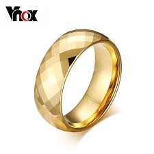 top wedding ring brands aliexpress buy vnox top quality gold color wedding jewelry