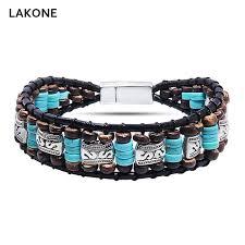magnetic wrap bracelet images Beaded wrap bracelet turquoises leather wrap bracelets native jpg