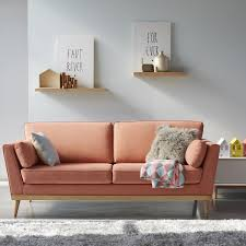 la redoute canapé canapé vintage 3 et 4 places tasie la redoute interieurs prix