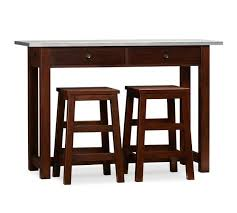 pottery barn counter height table balboa counter height table stool 3 piece dining set espresso