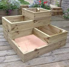 4 tier timber planter 60 00 garden edibles pinterest