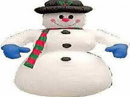 commerical air blown snowman airblown