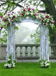 wedding ceremony arch altar arch arrangements chuppah indoor ceremony outdoor ceremony