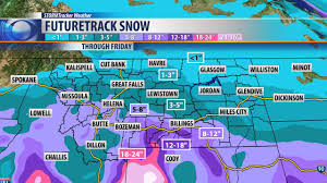 Montana Weather Map by Another Winter Storm On The Way Heavy Snow Possible By Thursday