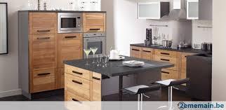 cuisine chene meubles de cuisine chêne massif vernis design a vendre 2ememain be
