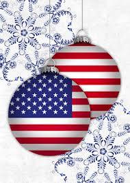 patriotic christmas cards patriotic ornaments card patriotic by brookhollow