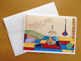 occupational therapist thank you card 5x7 by amyhwangshop on